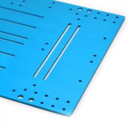 Montageplatte 360x256x3 mm