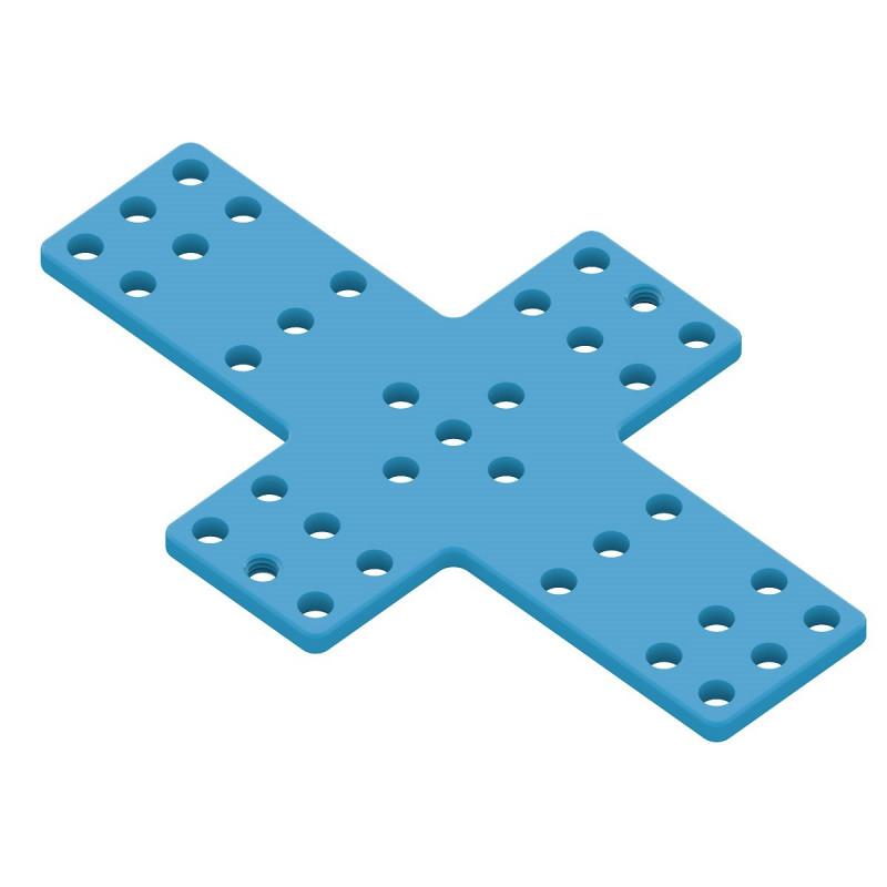 Lochplatte 61104 kreuzförmig 7x9-Loch