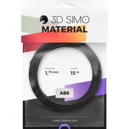 3Dsimo ABS 2 orange, schwarz & weiß