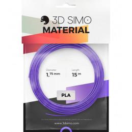 3Dsimo PLA 2 rot, violett & grün