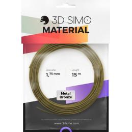 3Dsimo Metall Bronze