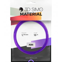 3Dsimo ABS Transparent grün, lila & gelb