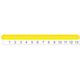 Aufkleber 2 (Skala) für die UMT-Absägestation