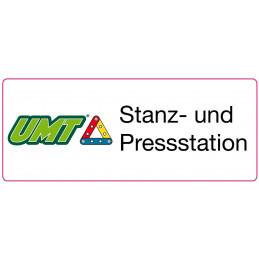 Aufkleber für die UMT-Stanz-und Pressstation