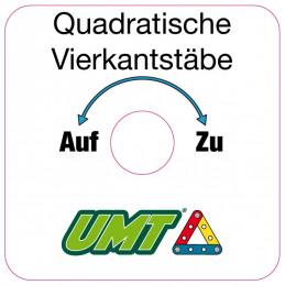 Aufkleber für den UMT-Klemmkopf (grau)
