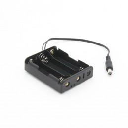 LiPo-Akkuhalter 2er für 3,7 V-NCR18650GA-Akkus