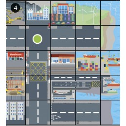 Beebot - Bodenmatte - Transport und Industrie