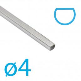 Achse abgeflacht, ø4 mm x 160 mm