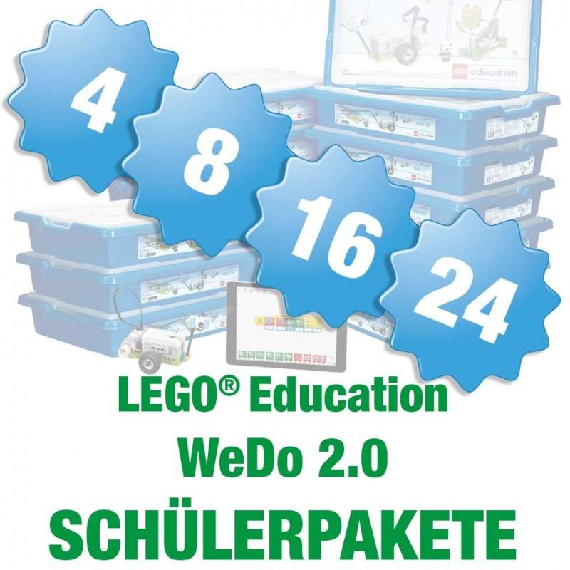 Wedo 2.0 - Paket für 8 Schüler LEGO® Education