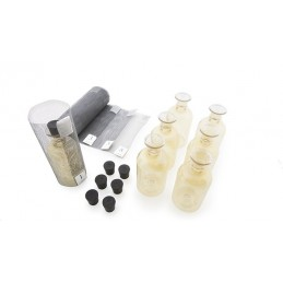 Plastikflaschen mit Marker