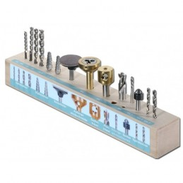 UMT-Bohrwerkzeugblock bestückt